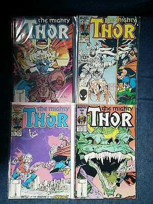 The Mighty Thor 342, 349, 372, 380, 382, 383, 384 and 385