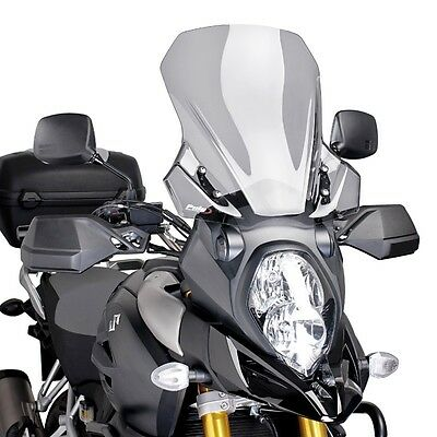 Windshield Touring Puig Suzuki V-Strom 1000 14-17 light smoke Spoiler Screen