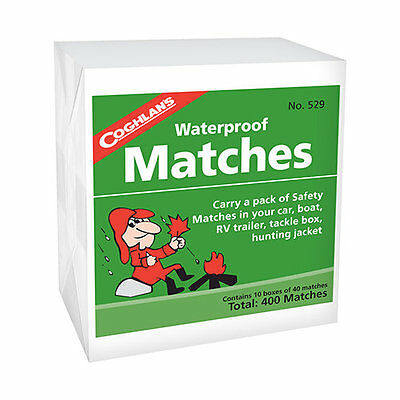 Coghlan's, Waterproof Matches, 1 Packs Per Lot (10 Box Per Pk), mfg 529