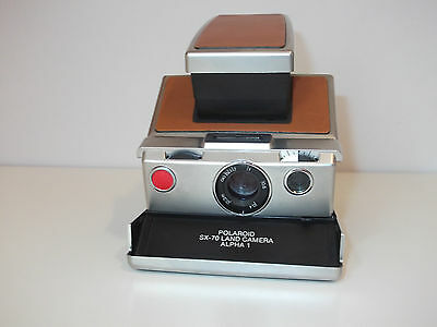 Vintage 1977 Polaroid SX-70 Alpha 1 Land Camera