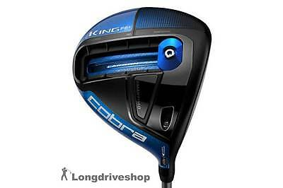 King Cobra F6+ Driver BLUE / BLACK *NEW* +RECHTSHAND+ REGULAR