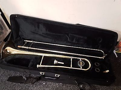 Jupiter JSL 432 Trombone in Case with 12C Mouthpiece.