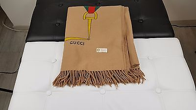 Gucci Vintage Throw Blanket from the 60's
