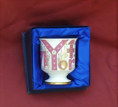COALPORT Bone China BOXED Mulberry Hall THE YORK GOBLET Ltd Edition 1971~PERFECT