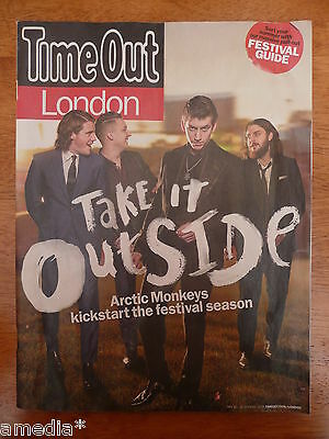 TIME OUT London Magazine May 20-26 2014 Featuring ARCTIC MONKEYS Alex Interview