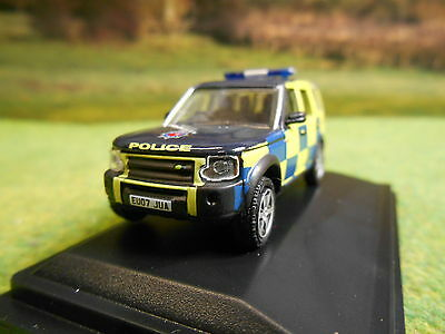 Oxford Essex Police Landrover Discovery 3 1/76 76Lrd001 Brand New