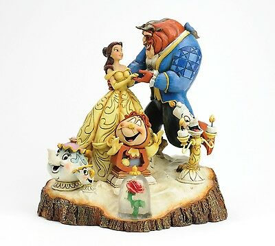 Disney Traditions Tale As Old As Time Beauty & The Beast Resin Figurine Ornament