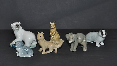 Wade Whimsies Selection Of Animals Some Imperfections/chips Low Price