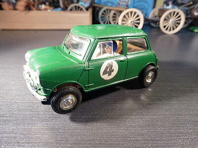 VINTAGE 60`s SCALEXTRIC TRIANG RALLY MINI C.7 1:32 SCALE