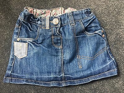 Girls Denim Skirt -  Next Age 12-18 Months