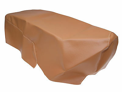 Seat Cover Light Brown Faux Leather PIAGGIO ZIP 2000 C25 50 cc bj. bj.00-05
