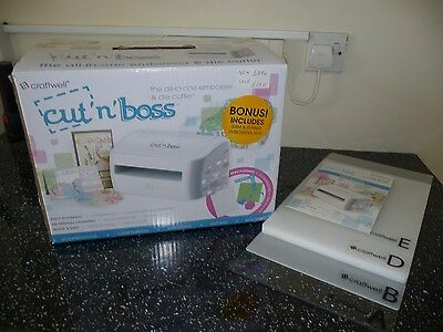 Craftwell Cut N Boss Electronic Die Cutting and Embossing Machine