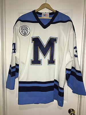 2012-13 Steve Pietroban OJHL St. Michaels Buzzers Game Worn Used Jersey Size XL