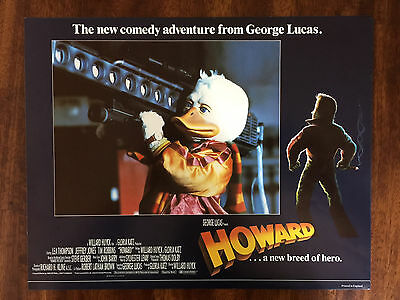 HOWARD THE DUCK (1985) Set of 8 Lobby Cards - Tim Robbins Lea Thompson