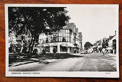 Amersham Real Photo Postcard Oakfield Corner Circa 1950's / 60's