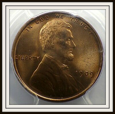 1909 VDB Lincoln Cent PCGS MS65RD