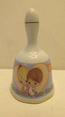 "Precious Moments Porcelain ""Love One Another"" Bell - Giftco, Inc. 2000"