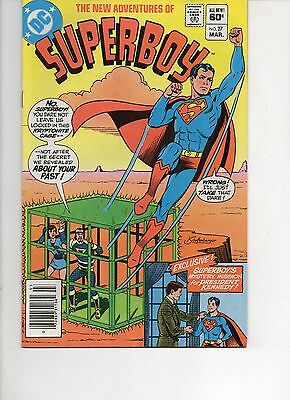The New Adventures Of Superboy 27 Very Fine 1982 Dc Bronze Age Comic