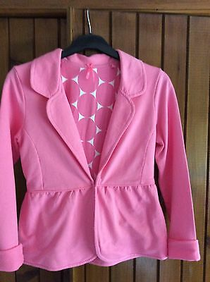 Next Girls Summer Jacket, Pink Age 14 Years Height 164 Cm. Fully Lined