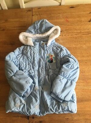 Frozen Coat Age 5 To 6yrs