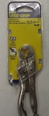 """Irwin Vise Grip 4LW 4"""" Locking Pliers Wrench with Wire Cutter"""