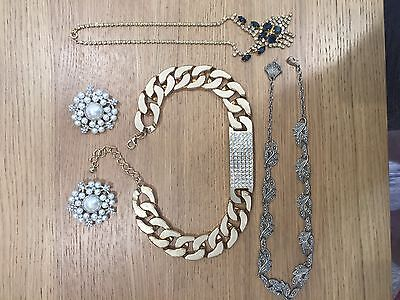 Job Lot Of Costume Jewellery