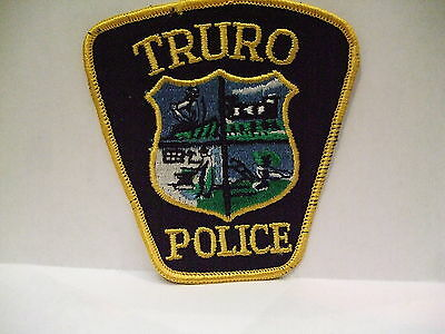 police patch  TRURO POLICE NOVA SCOTIA  CANADA OLD STYLE
