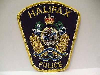 police patch  HALIFAX POLICE NOVA SCOTIA  CANADA  OLD STYLE