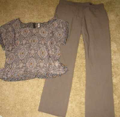 22p Women's Summer Clothing Lot Size  12/large Career/Casual Shirts/Pants/Skirts