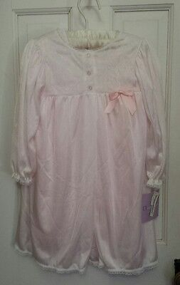 Sterling Kids Little Girls Peignor 2 Pc. Nightgown & Robe Set Size 2T NWT USA