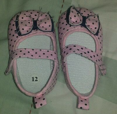 Bundle baby girls shoes 6-12 months