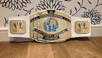 TOY WWE WWF CLASSIC INTERCONTINENTAL CHAMPIONSHIP WRESTLING BELT HOGAN DX lesnar