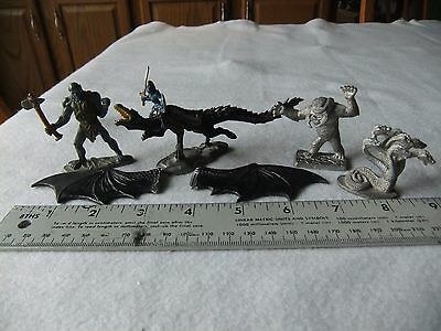 Ral Partha Hydra, Stone Giant, Umber Hulk & Grenadier Chaos Dragon with Rider