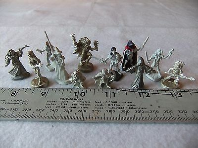 Ral Partha 12 Assorted Figures; D&D; Gaming