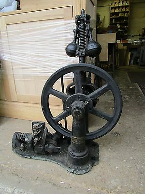 Old Large Industrial Cast Iron Elevator Speed Governor