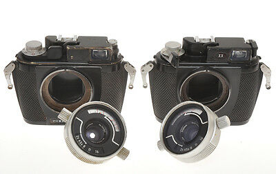 Couple of Nikonos cameras, I and II with 35/2.8 exc- not in working order