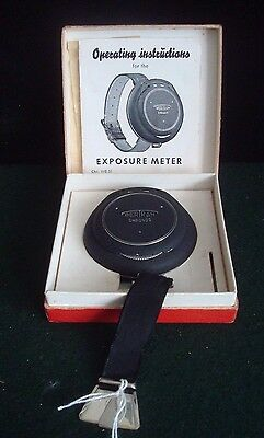 Bertram Chronos Light / Exposure Meter In Original Box And With Instructions