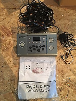 pintech electric drum module/brain with wire harness