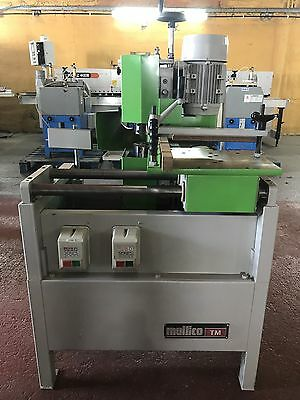MULTICO TM1 2 Head Tenoner, 240v Single Phase, Excellent £1950.00 + VAT