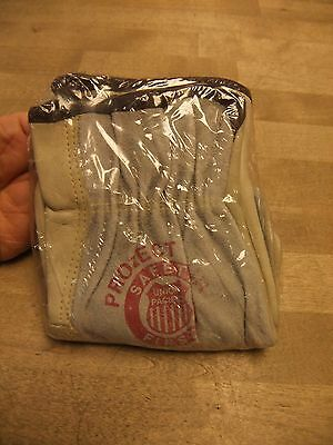1 Pair of Union Pacific Railroad Leather Work Gloves;  New in Sealed Bag