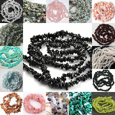 5-8mm Natural Freeform loose beads strand gemstones jewelry 16""