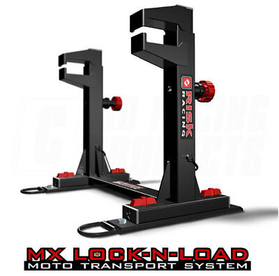 Risk Racing MX Motocross Lock-N-Load Bike Transport System (Standard Size)