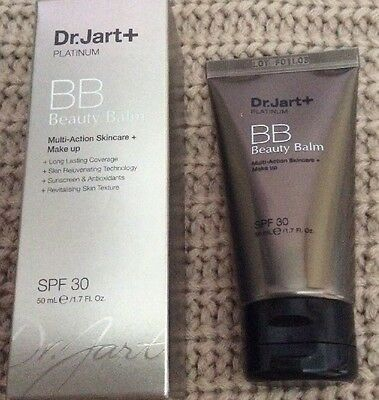 Dr. Jart + Platinum- BB Beauty Balm - 50 ml - SPF 30 - New And Boxed