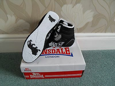 ***Fabulous*** LONSDALE CONTENDER LOW JN BOXING BOOTS