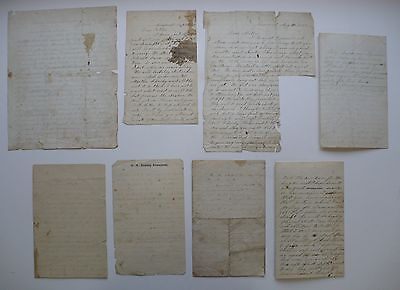 8 Civil War Letters, William Fish, 11Th New Hampshire Infantry Soldier
