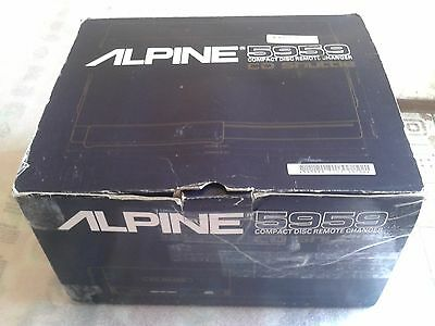 cd alpine compact disc remote changer 5959