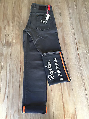 NEW Rapha and Raeburn SPECIAL EDITION ONLY 500 MADE Cycling Denim Jeans 32 x 32