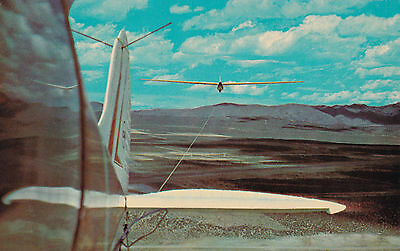 Airplane Towing Polish Glider , Stead AFB , RENO , Nevada , 50-60s