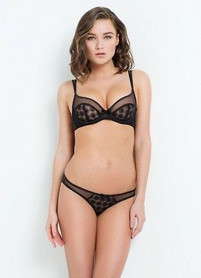 L`AGENT BY AGENT Provocateur Brigit Set 34Dd Bra Brief Size Medium ... 29fc7f085