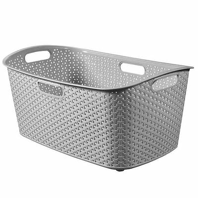 Curver - Panier a linge My style 47 L argent - 4504002.0 NEUF